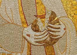 cristo spezza il pane