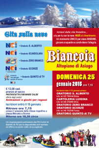 Neve Biancoia 2015