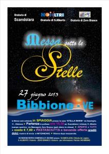 MESSA SOTTO LE STELLE 2015